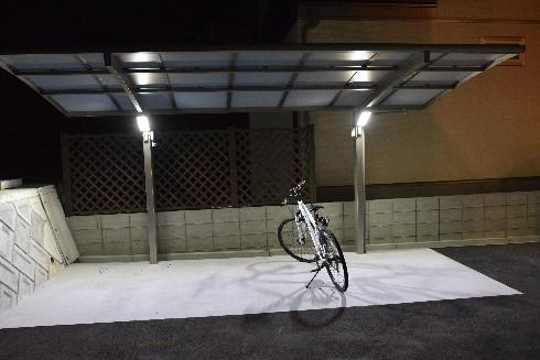 写真:ルッカ高須駐輪場