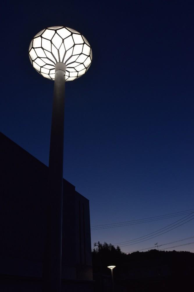 写真:ルッカ高須外灯