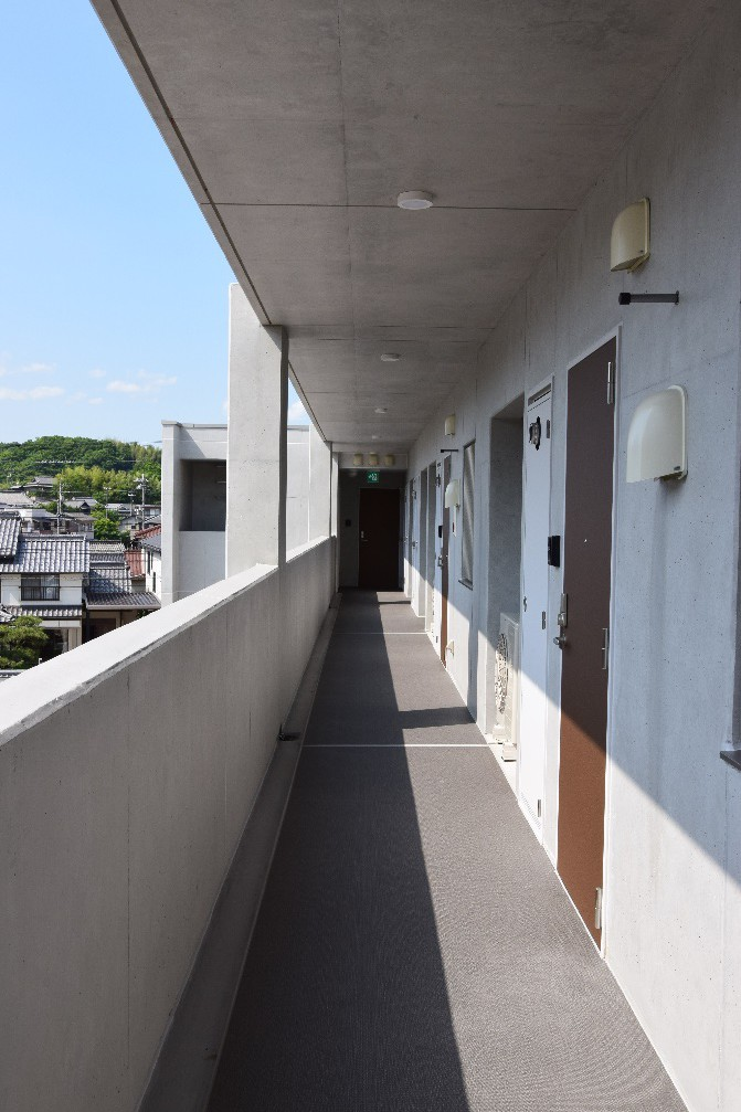 写真:ルッカ高須通路
