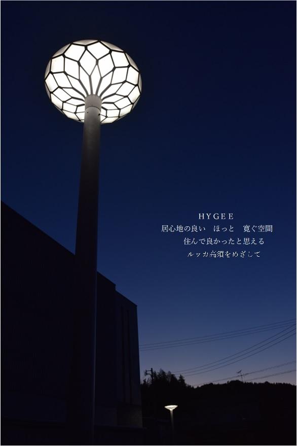 写真:街路灯